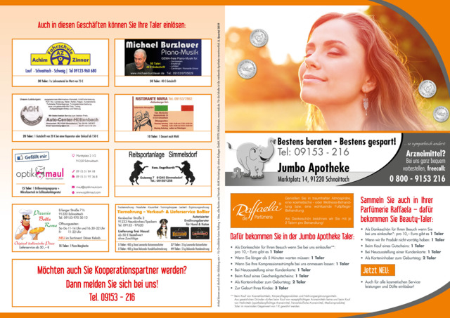 Quartalsprämienflyer 2019