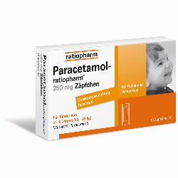 PARACETAMOL RATIO250MG SUP